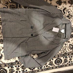 H&M Long Sleeve Double Button Blazer Size 10 US